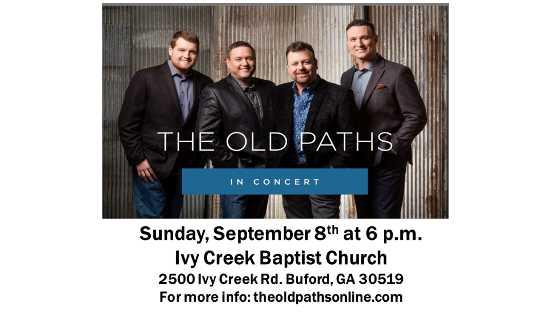 Old Paths Ad